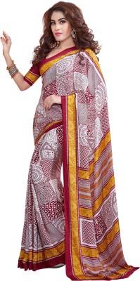Sushma Printed Daily Wear Crepe Sari