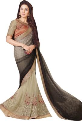 Lajo Printed Bollywood Chiffon, Shimmer Fabric Sari