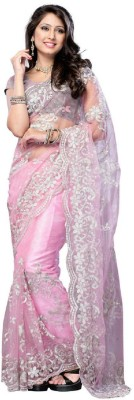 Aditya Fashion Embriodered Bollywood Net Sari