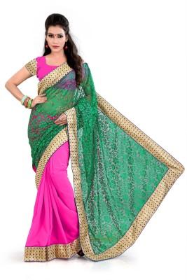 Nikita Sarees Printed Fashion Georgette Sari