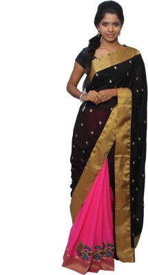 Avantika Embellished Fashion Handloom Georgette Sari
