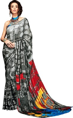 Fashionzone sarees price list in india 20 august 2018 fashionzone 50off fashionzone printed self design bollywood pure crepe sarimulticolor thecheapjerseys Image collections
