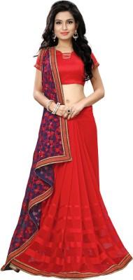 VH Fashion Embriodered Rajkot Dupion Silk Sari