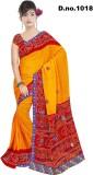 Varni Retail Printed Assam Silk Georgett...