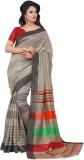 Vbuyz Striped Daily Wear Silk Saree (Mul...
