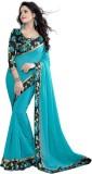 Kuvarba Fashion Solid Fashion Georgette ...