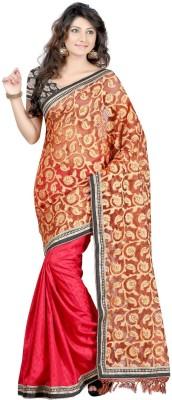 Budget Vastra Printed Fashion Brasso Fabric Sari