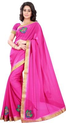V-Karan Embriodered Fashion Georgette Sari