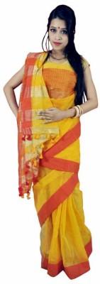 MCLS FASHION Woven Tangail Handloom Silk Sari