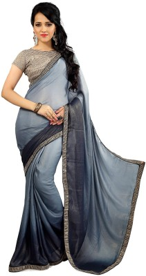 Unique Dresses Embriodered Fashion Georgette Sari