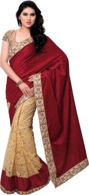 Krishna Ki Leela Embriodered Bollywood Velvet Sari