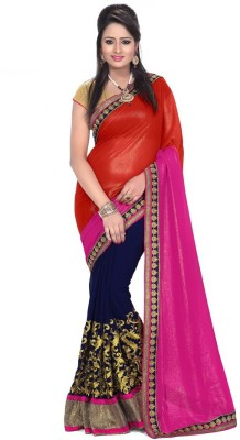 Sweetlady Embriodered Bollywood Georgette Sari