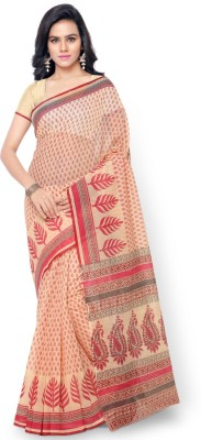 Aagaman Fashion Printed Fashion Cotton Sari