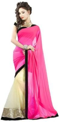 Ruchifashion Embriodered Bollywood Georgette Sari