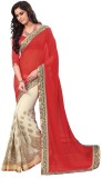 Vedhas Self Design, Solid Fashion Chiffo...