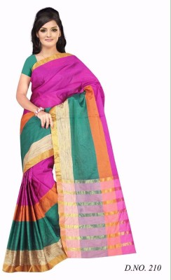 Maitri Fashion Printed Bhagalpuri Cotton Sari