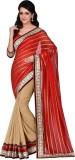 Hitansh Fashion Striped Fashion Georgett...