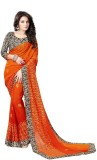 Chaand Embellished Bollywood Georgette S...