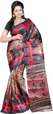 Aarna's Collection Printed Fashion Art Silk Sari