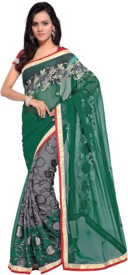 Kalista Fashions Embriodered Bollywood Georgette Sari
