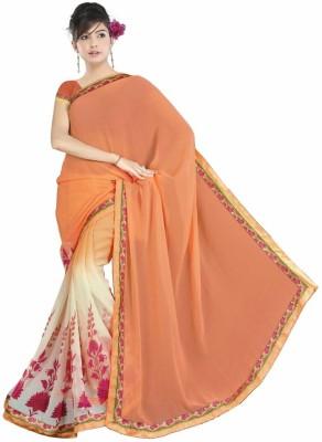 Khiyatee Printed Bollywood Synthetic Sari
