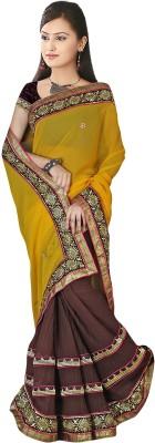 Suchi Fashion Self Design, Embellished, Embriodered Lehenga Saree Georgette Sari