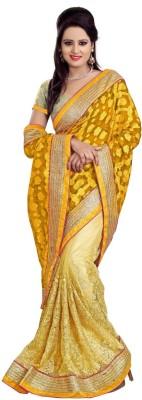 Nupur Fashion Embriodered Fashion Net Sari