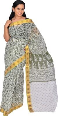 Pooja Printed Thanjavur Handloom Cotton Sari