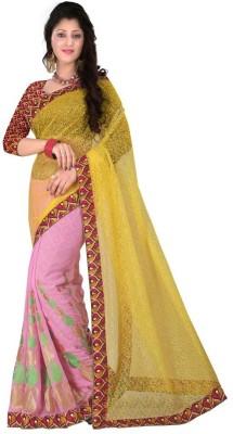 gunjan creation Self Design Fashion Pure Georgette Sari