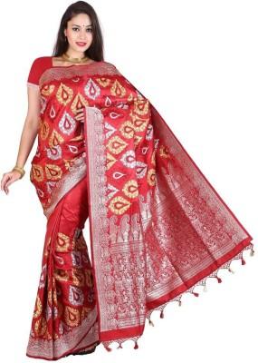 Royal Choice Floral Print Daily Wear Dupion Silk Sari