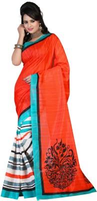 Ansu Fashion Printed Fashion Silk Sari