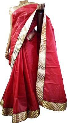 Mosanta De Boutique Checkered Fashion Silk Sari
