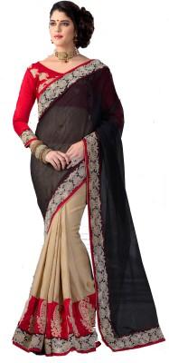 Saree Exotica Self Design Fashion Net Sari
