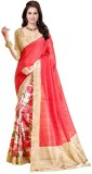 FastColors Printed Bollywood Art Silk Sa...