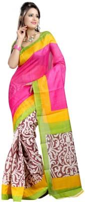 Regalia Ethnic Printed Fashion Art Silk Sari