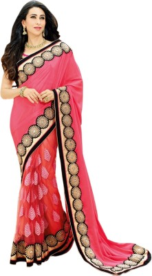 Kaali Fashion Self Design Fashion Georgette Sari