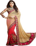 SADHANA IMPEX Embroidered Bollywood Net,...