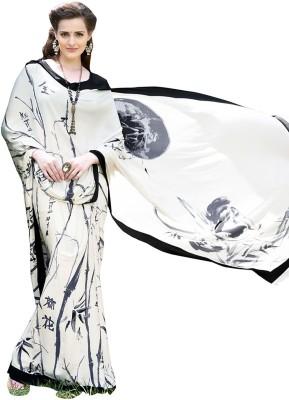 Khantil Printed Fashion Crepe Sari