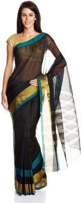 Aryahi Solid Mysore Art Silk Sari