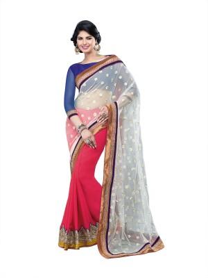 Fairy Fashions Self Design Bollywood Georgette Sari