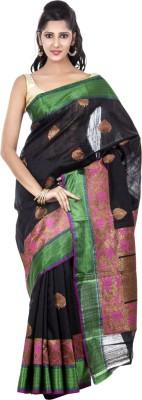 Kalaniketan RJP Group Self Design Fashion Handloom Jute, Silk Sari