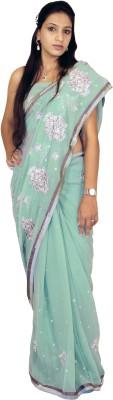 Shree Ji Paisley Daily Wear Pure Georgette Sari