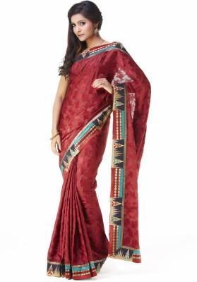 SONAS Self Design Bollywood Art Silk Sari