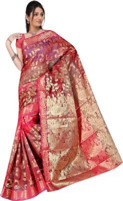 Fashion4Nation Self Design Daily Wear Cotton Sari