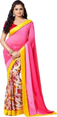 Manjaree Printed, Self Design Bollywood Georgette Sari