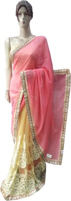 Desiner Embriodered Fashion Synthetic Sari