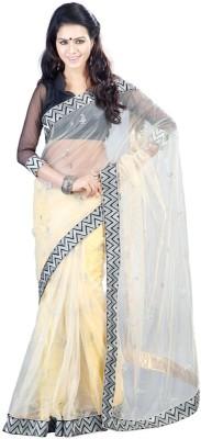 Metroz Embriodered Fashion Net Sari