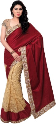 CoreFestival Embriodered Fashion Velvet Sari
