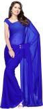 Dilwaa Plain Fashion Georgette Sari