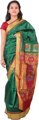 Aruna Fashions Woven Paithani Art Silk Sari